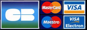 Visa, Mastercard, CB ...